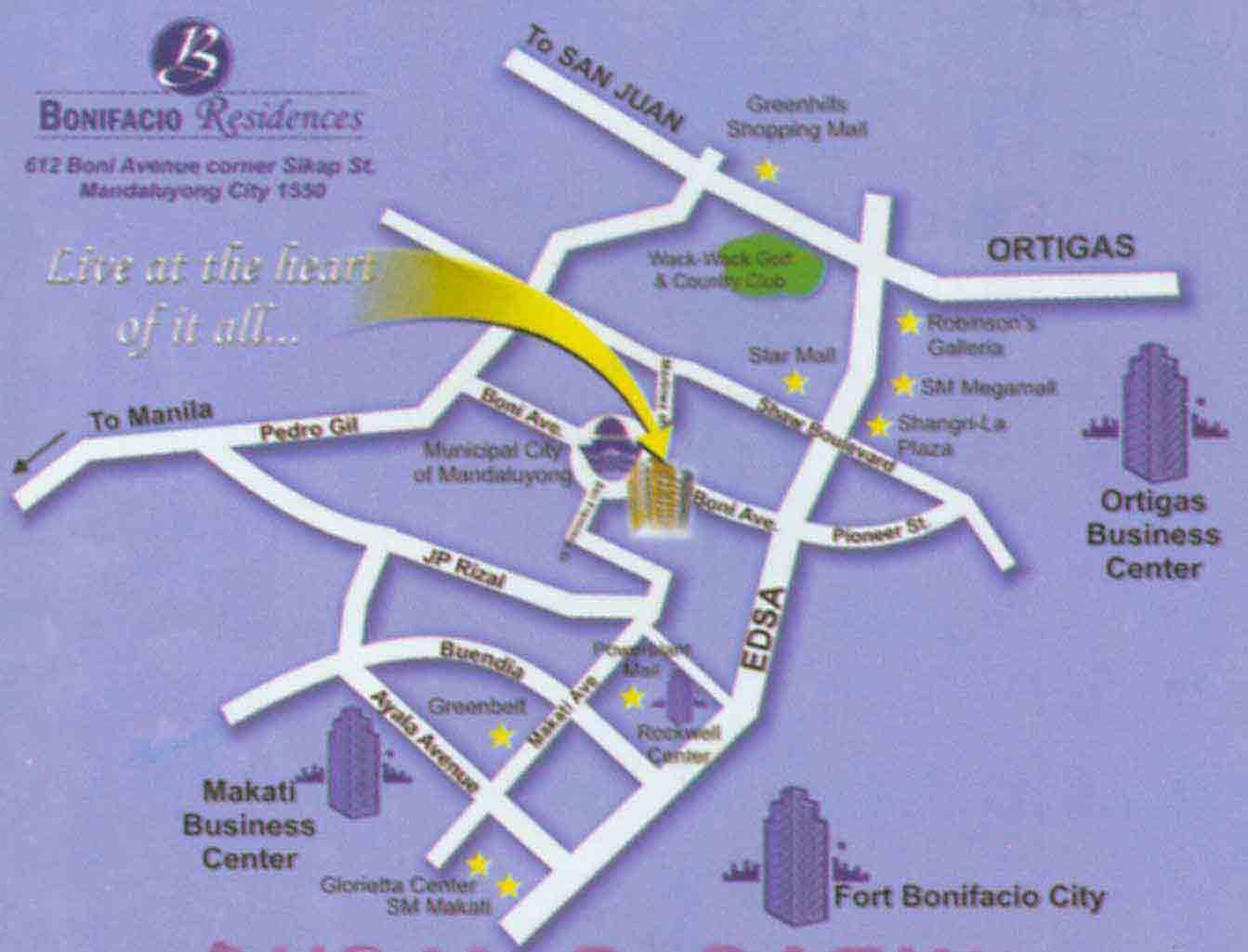 Bonifacio Residences Condominium Philippines Condominiums in